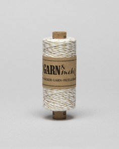 """Cord Baker Twine """"Gold-White"""""""