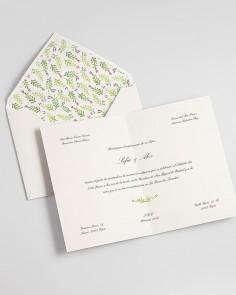 "Diptych Card ""Spring"""