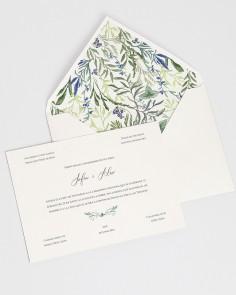 """Card """"Wild Hyacinths I"""""""