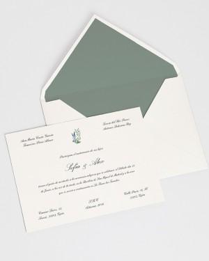 """CARD """"WILD HYACINTHS II"""""""