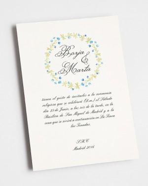 "WEDDING INVITATION ""WINTER"""