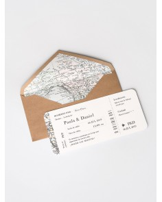 invitacion de boda mapa marmarina