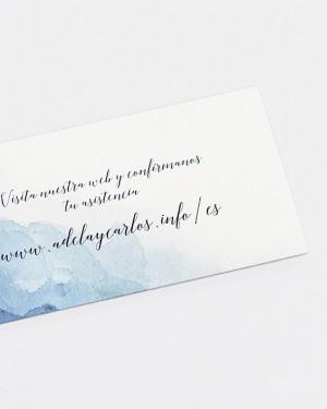 """""""WATER"""" WEB CARD"""