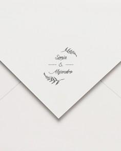 "Rubber stamp ""Silvestre"""