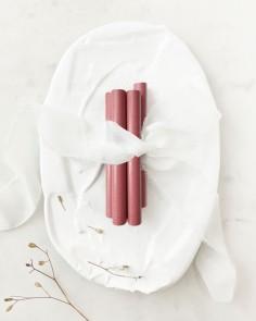 barras de lacre rosa vintage