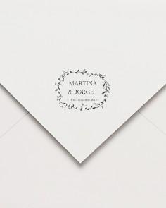 """Rubber stamp """"Garden"""""""