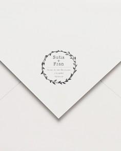 """Rubber stamp """"Postal ivy"""""""