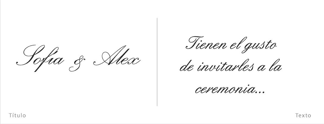 Tipografía Tipo 1